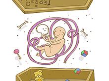 """Ilustración """"Fanzine 100grados"""""""