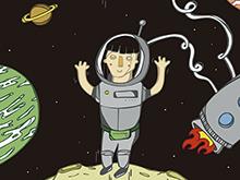 Estrella en el espacio
